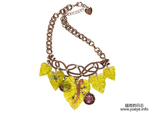 Jungle Book Leaf Necklace