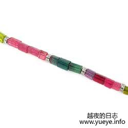Multi Color Tourmaline Necklace